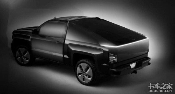 更像是未来的装甲运兵车,特斯拉新款电动皮卡未来感十足,颠覆你认知