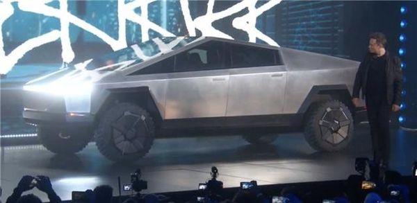 特斯拉:电动皮卡Cybertruck正式发布!