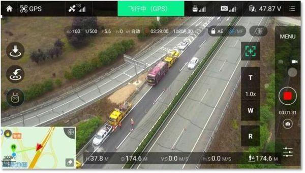 安徽:创新应用无人机开展高速公路交通管理