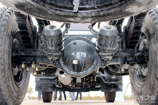 搭载朝柴163马力国六机图解东风福瑞卡