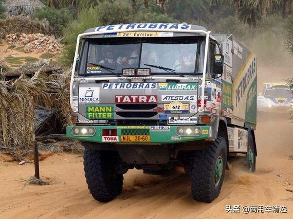 6次夺得冠军达喀尔拉力赛卡车组太脱拉T815的高光时刻