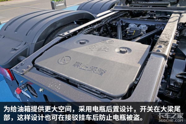 解放JH6搭载12挡AMT空间配置超给力