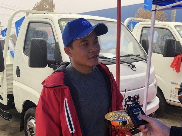 1分20秒37完赛领先亚军4秒之多专访我是卡车人临沂站冠军