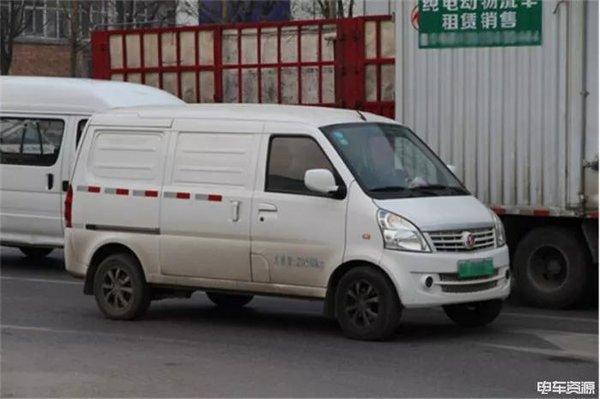 物流车畅行公交道长安古城的新能源风!