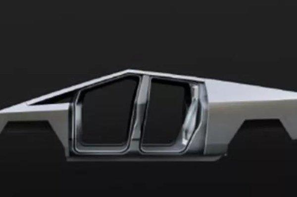 特斯拉皮卡Cybertruck外观诡异马斯克:车身材质过硬无法弯曲