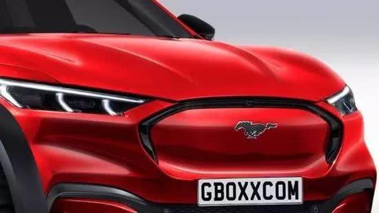 福特MustangMach-E渲染图造型动感!