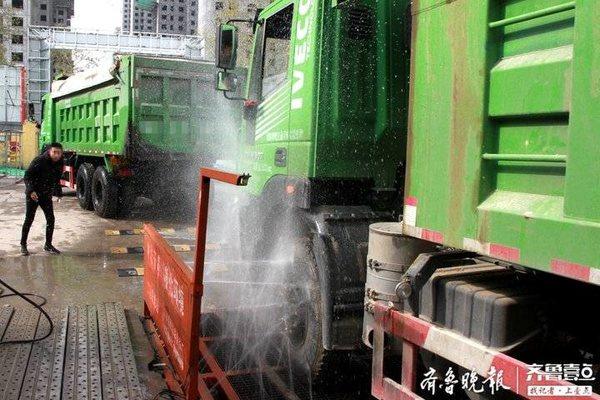 打响移动源污染整治攻坚战淄博将严控重型货车进出城区的频次