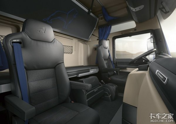 国外认可度极高,德国MANTG系列驾驶室,进入国内成教科书级别存在