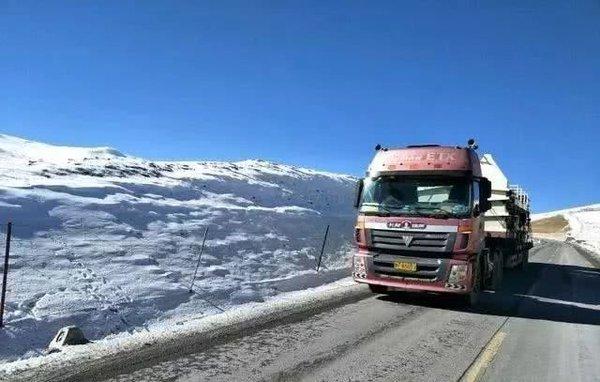在冬季开卡车咱们大货车司机要注意这几条