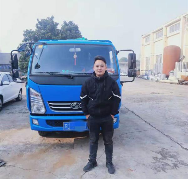安徽小哥17岁闯荡常州买车买房重新定义30岁的货运人生