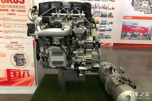 4缸機馬力240匹玉柴YCK05-60動力解讀