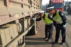 """曲靖:开展整治""""百吨王""""超载货车行动"""