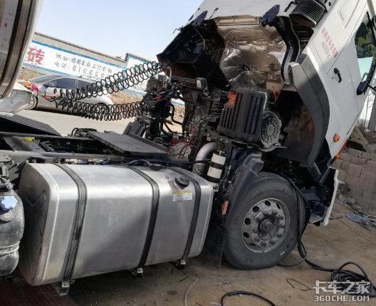 燃油箱破裂漏油,�Q新件的�X可不能��!