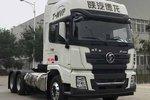 德龙X3000告别大书包 侧置LNG气罐 潍柴13L国六460马力发动机