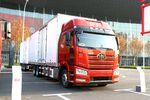 总长20米,还是国六排放 这台J6或许是未来卡车新趋势!