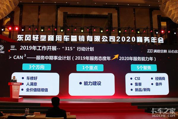 9.7万为起点冲击12万东风轻型商用车营销公司2020年会再定新目标!