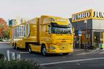 DAF公司在欧洲开始交付纯电卡车 续航100公里 卡友:在中国卖不出去的