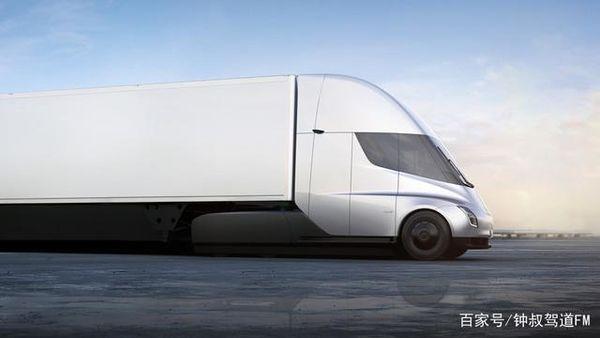 細數'來自未來'的電動卡車科技感滿滿