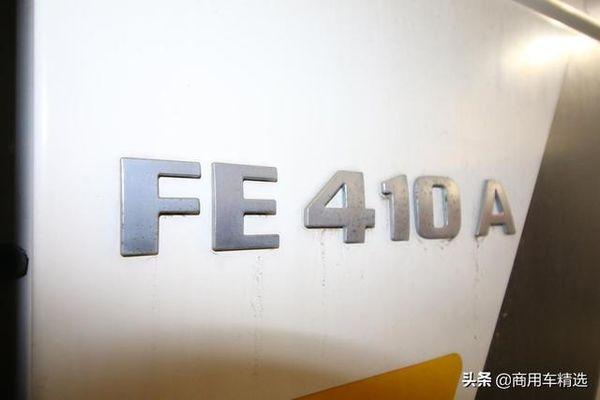 国内几乎见不到德国曼恩F2000FE410单桥牵引车实拍