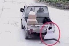 女童意外遭��拖行百米 司�C竟是�H��