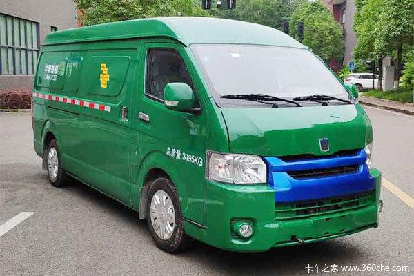 远程E6电动封闭厢货仅售13.76万