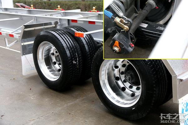高速按轴计费华骏推出两轴智能骨架车