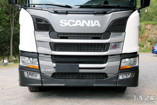 主打性价比的斯堪尼亚图解G450牵引车
