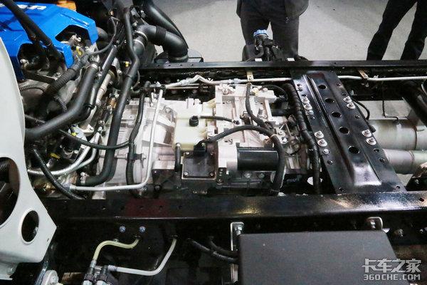 国六b自动挡高配轻卡图解上汽超越C500