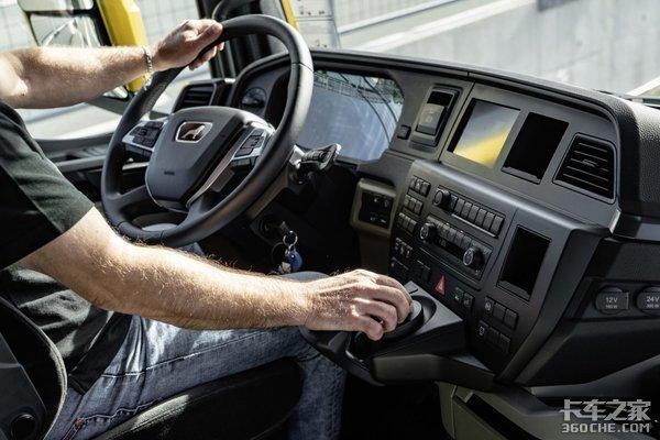 曼恩全新TG系列车型,外观酷炫配置更强