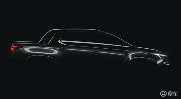 1.3T的小型皮卡,全新菲亚特Strada发布预告图
