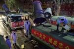 雾炮车 洒水车变身防疫卫士 战斗力爆表
