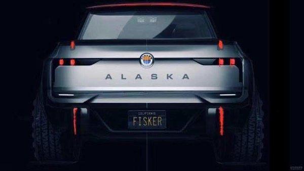 或命名为阿拉斯加?Fisker电动皮卡曝光
