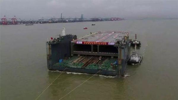 深圳30分钟直达中山深中通道现已开工
