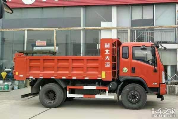 六款15万级别4X2小型自卸车盘点,谁才是乡村基建工地上的小能手?