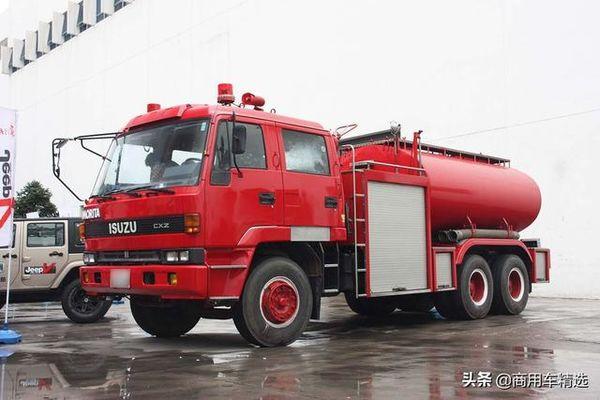中日友好的产物1991年的五十铃消防车