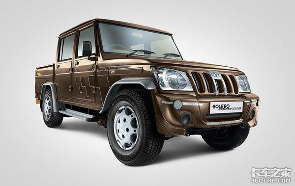 来自印度的皮卡小猛男,配置这么低,在台湾却卖的比国产车还好