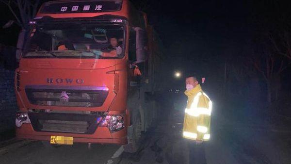 博山整治移动污染源查处超载货车7辆