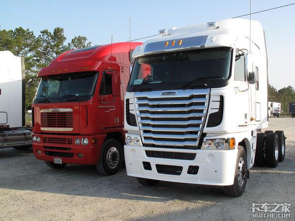 看惯了国产卡车,今天换换口味,感受一下美国不同风格的平头卡车