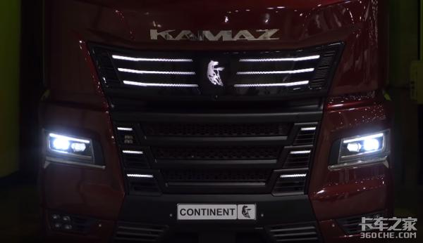卡玛兹50周年概念卡车实力真不容小觑