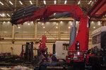 星马牌32吨(63吨/米)随车吊试制成功