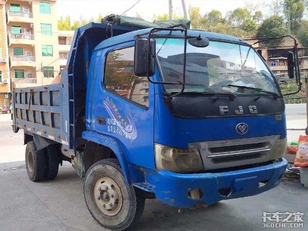 福建3大车企之一,在当地农村短途运输,这种小自卸车可是香饽饽