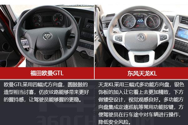 高速物流大马力快运车欧曼GTL与天龙KL怎么选?