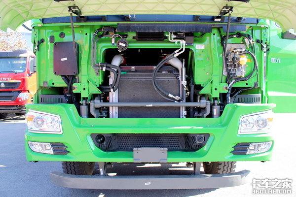 卡车新体验(1)国六潍柴400马力,北京销售无障碍HOWO-7渣土车实力强