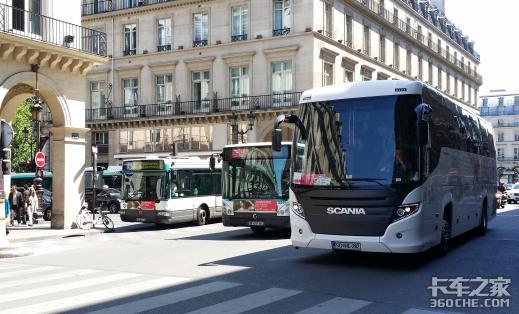 手绘欧洲商用车(二):在巴黎,欧洲7大品牌卡车我都见到了