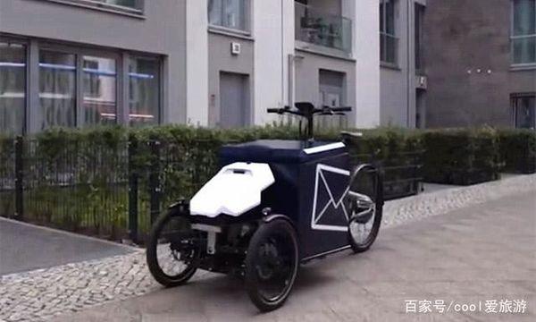 德国首辆智能快递车上市 自动配送到家