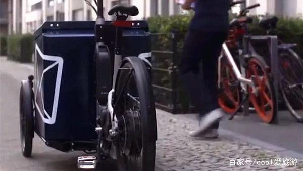 德国首辆智能快递车上市可自动配送到家