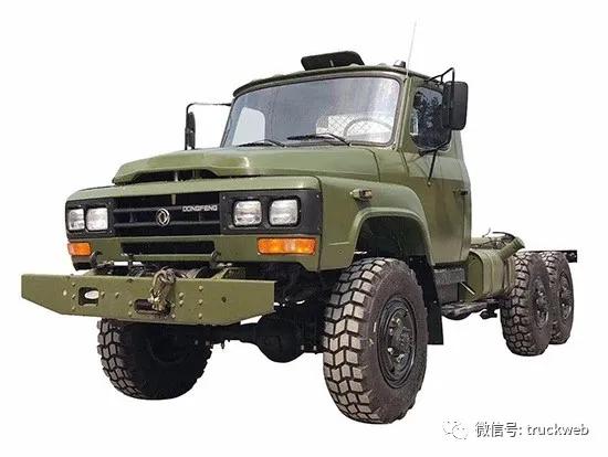 140驾驶室/6x6驱动藏民最喜欢的全驱货车东风EQ2082E6D