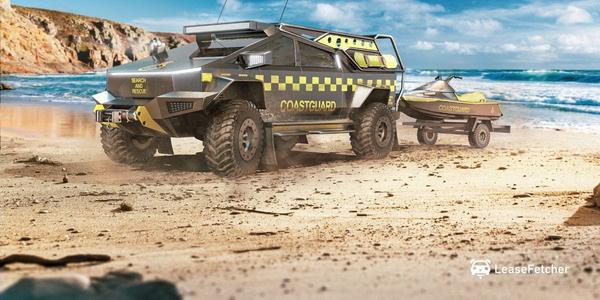 特斯拉硬核皮卡cybertruck推出多种特殊车辆