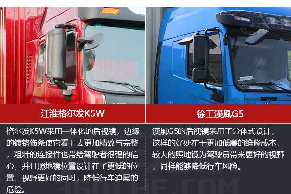 搭载玉柴同款发动机格尔发K5与�h�LG5有何不同?