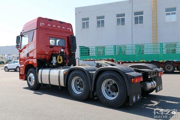 自重8.1吨+解放动力链460马力JH6卓越版,煤炭绿通都能拉!